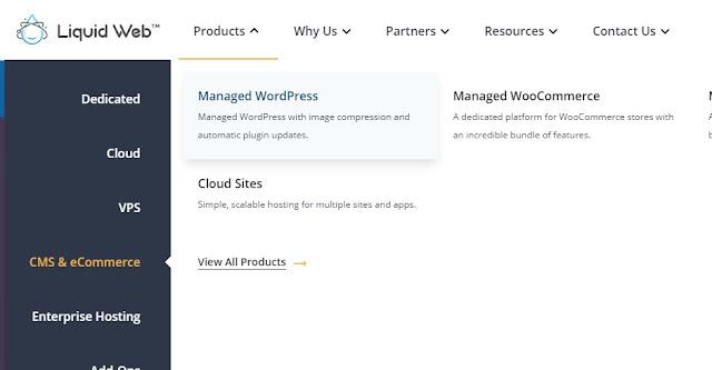 Liquid web Managed wordpress web hosting