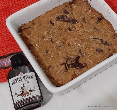 Devils River Coffee Bourbon Brown Butter Blondies
