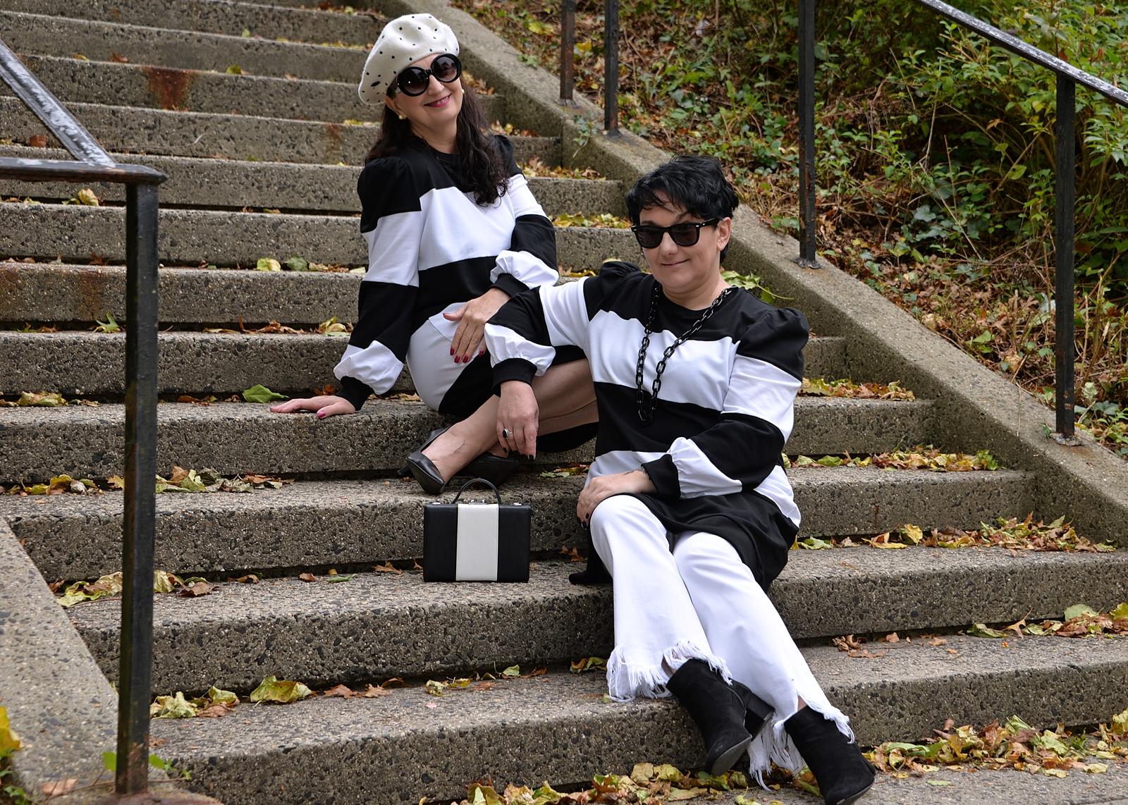 Black and white stylization
