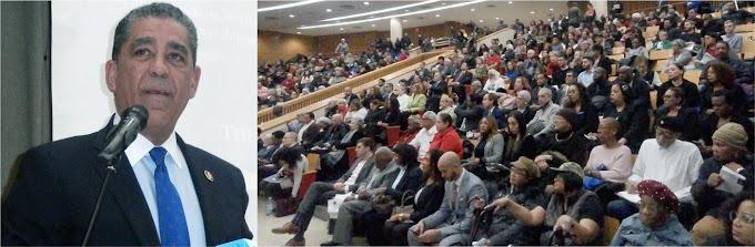 Espaillat rinde cuentas sobre estado del distrito 13 y resume logros en legislaciones y  desarrollo de áreas críticas