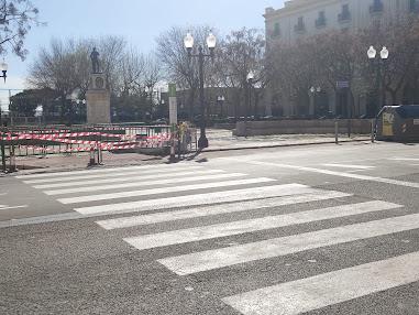 Pas viannats de la Plaça dels Carros. Foto: Blog Barri del Port