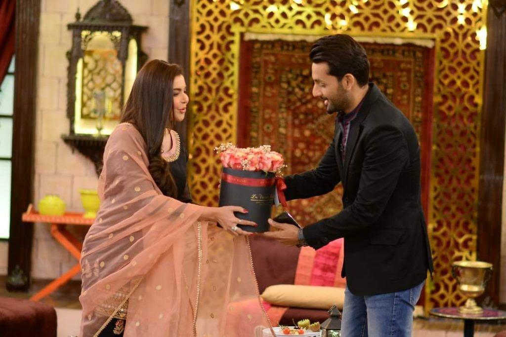 Mohib Mirza and Mahira Khan in GMP