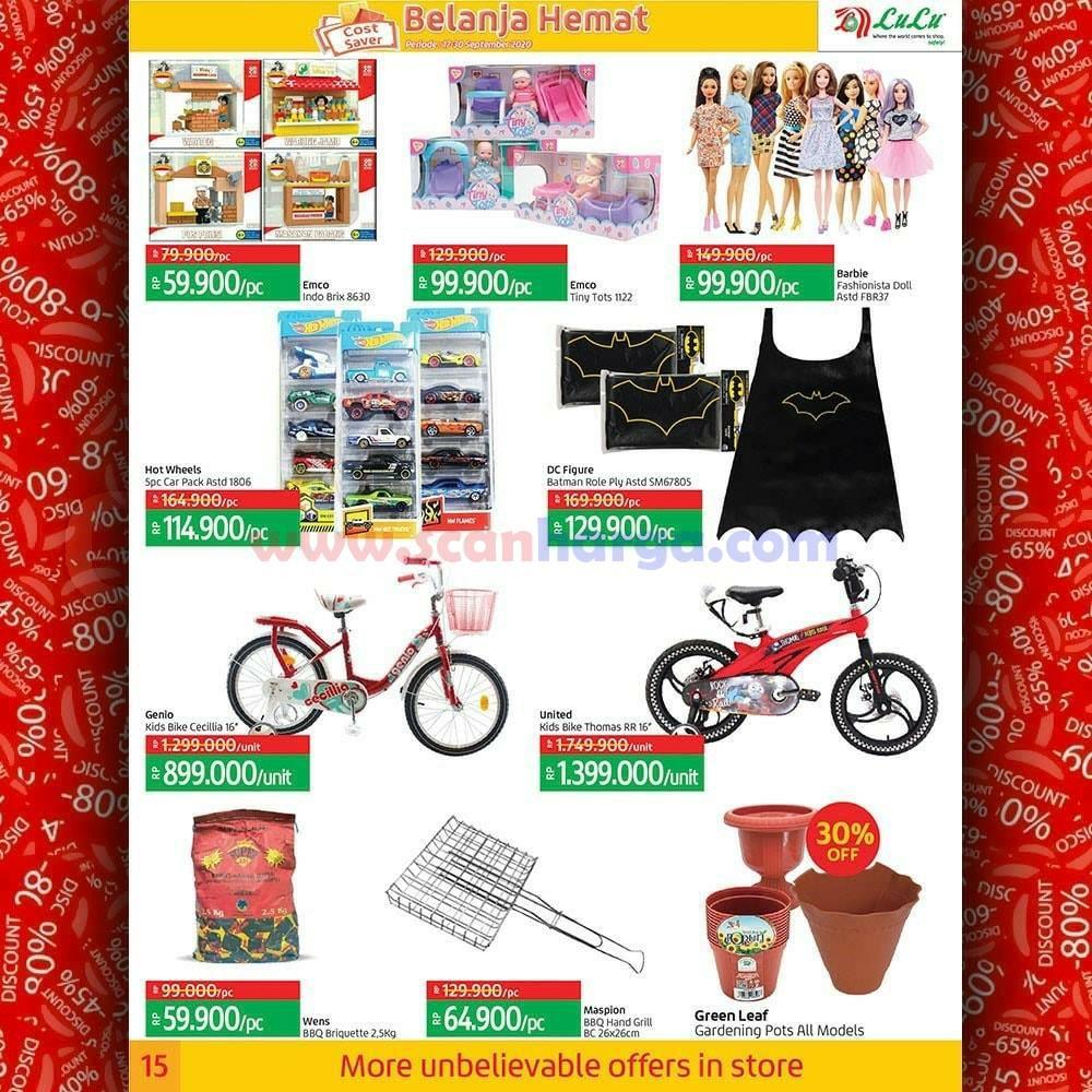 Katalog Promo LULU Supermarket 17 - 30 September 2020 15