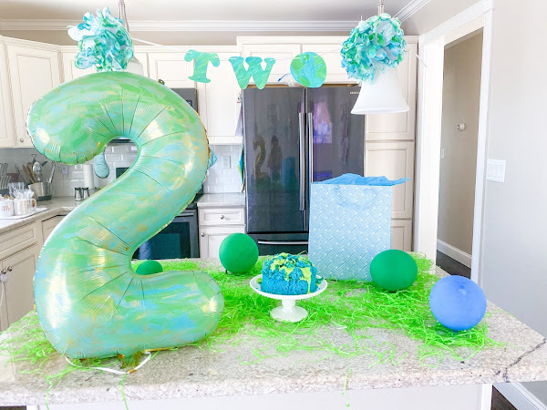 Earth Day Baby Virtual Birthday Party