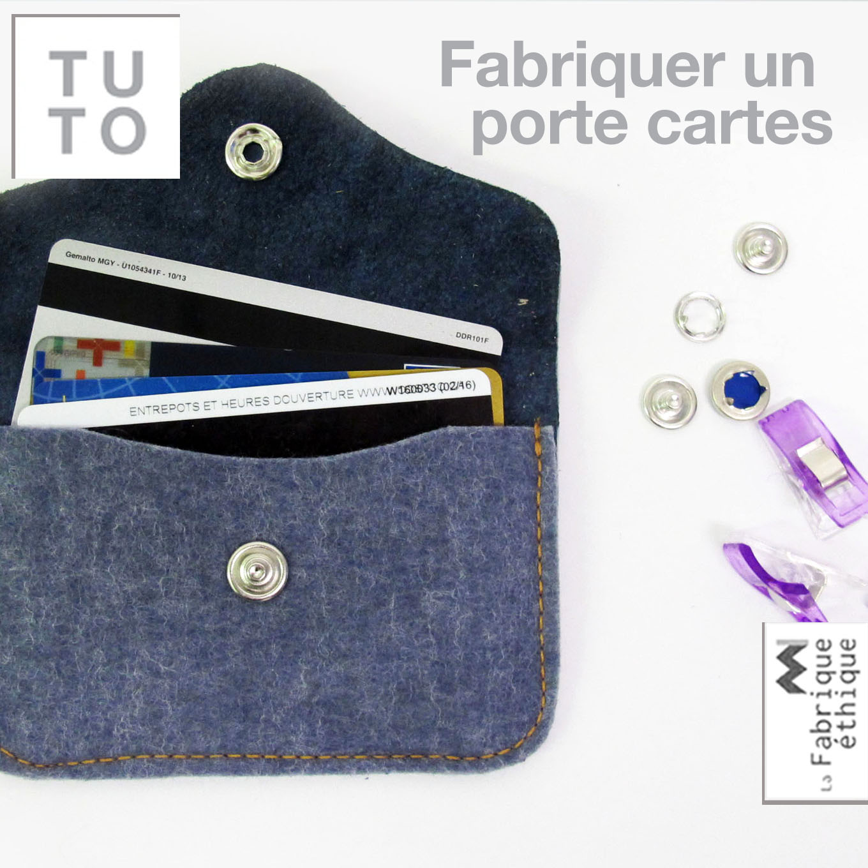 tutoriel fabriquer un porte cartes blogue de couture diy de la fabrique thique. Black Bedroom Furniture Sets. Home Design Ideas