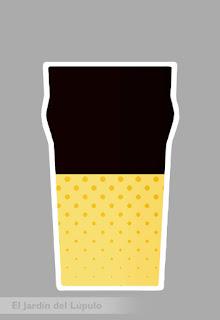 Cóctel con cerveza: Black Velvet