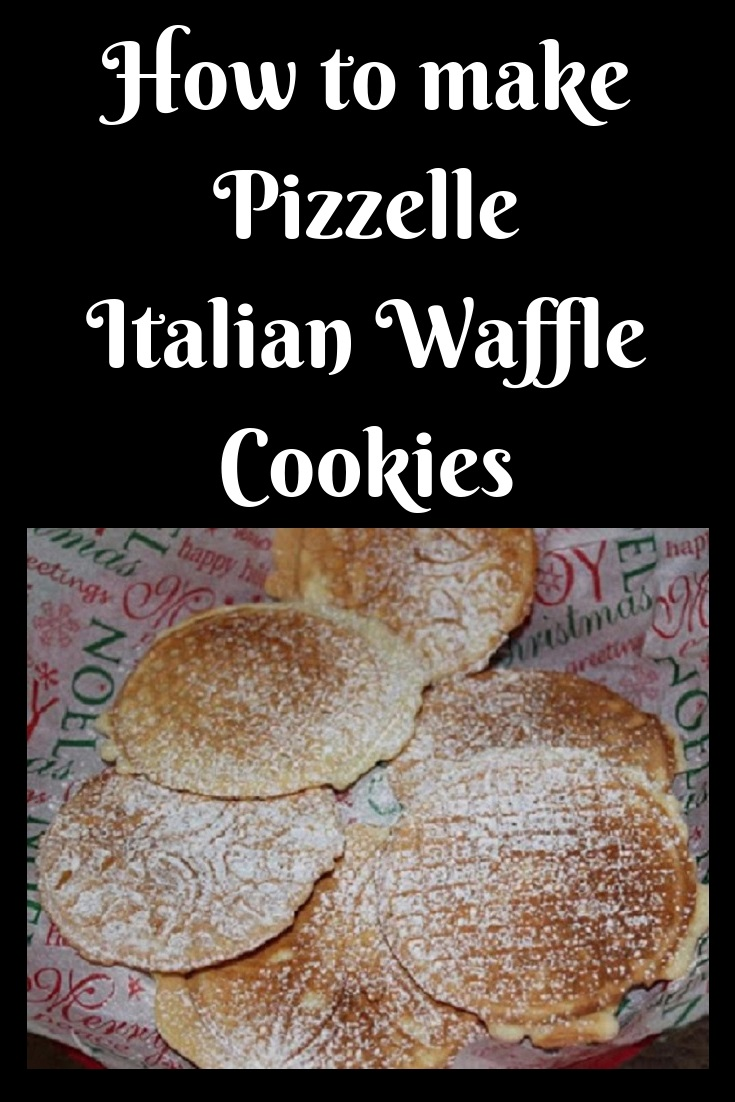 these are a traditional waffle anisette cookie made with a pizzelle waffle maker.