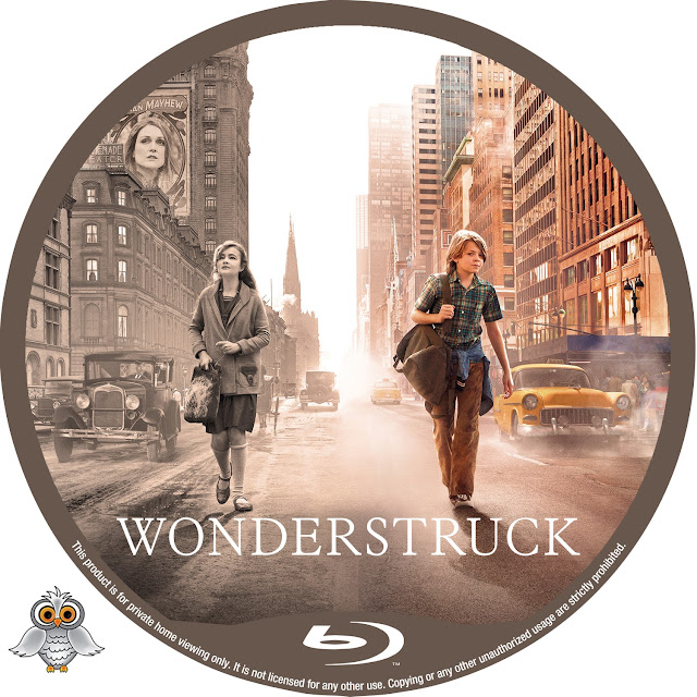 Wonderstruck Bluray Label