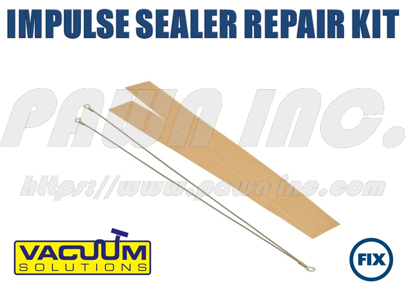 2 Pack Impulse Sealer Repair Kit