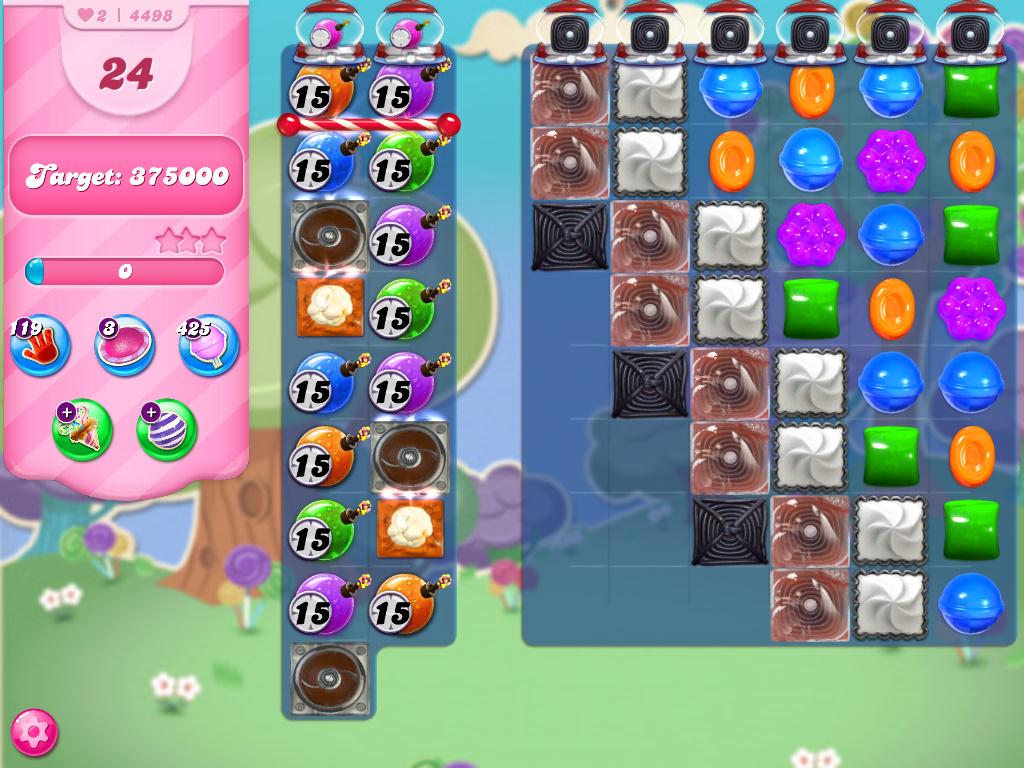 Candy Crush Saga level 4498