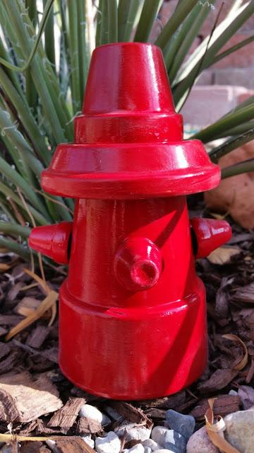 Φτιάξτε έναν διακοσμητικό πυροσβεστικό κρουνό