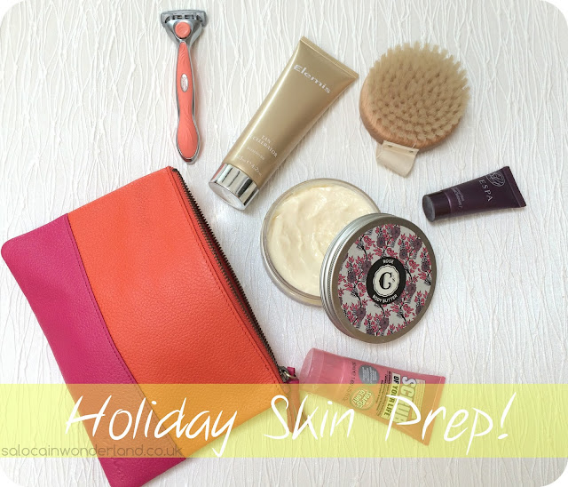 holiday skin prep