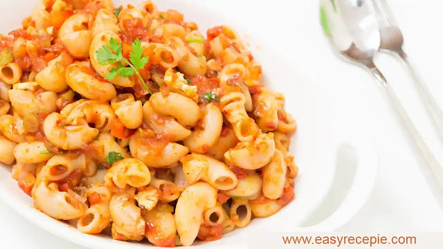 Macaroni recipe | How to make macaroni at home