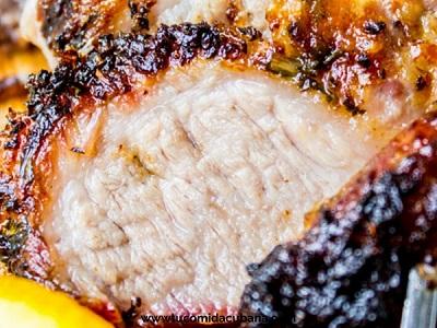 ©️ Comida Cubana - Lomo de cerdo