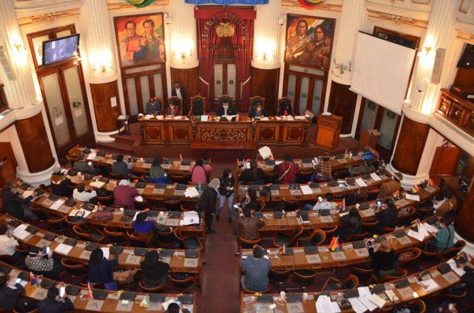 Sesión legislativa la noche del miércoles 10 de junio / FACEBOOK