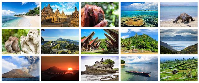 15 Tempat Wisata Terbaik di Indonesia