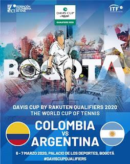 DAVIS CUP 2020 en Bogotá | Colombia Vs. Argentina