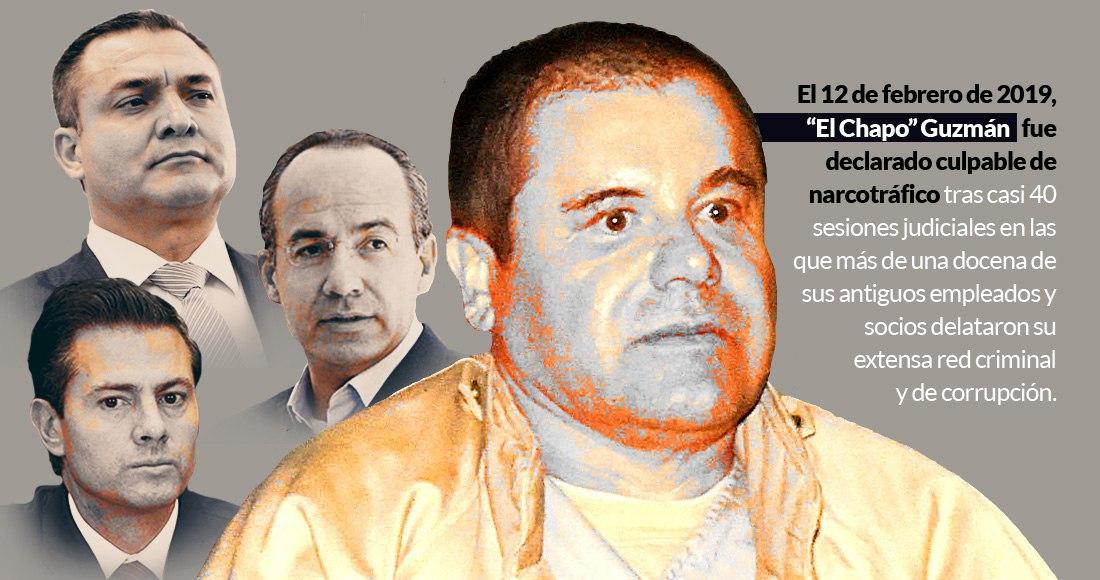 """Un año después del juicio a Joaquín """"El Chapo"""" Guzmán, todo está igual: el Cártel intacto, la corrupción también"""