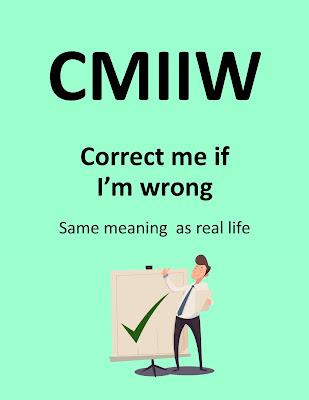 Pengertian CMIIW