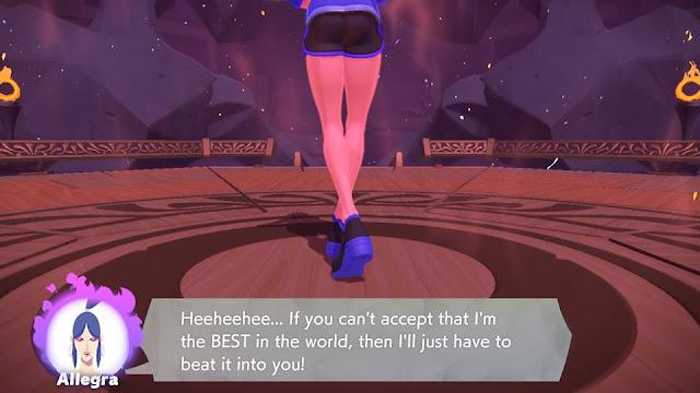 Ring Fit Adventure Allegra world 7 boss fight Beaut Camp best in the world dat ass legs