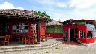 Restaurant near Laguna de Apoyo