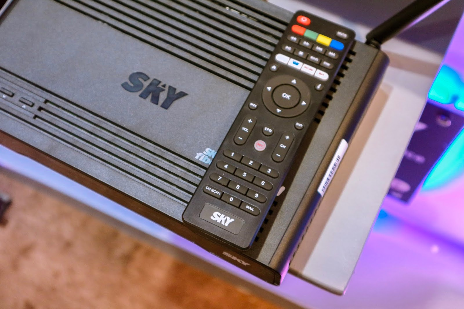 SKY FIBER launches new speed plans and the first ALL-IN BOX