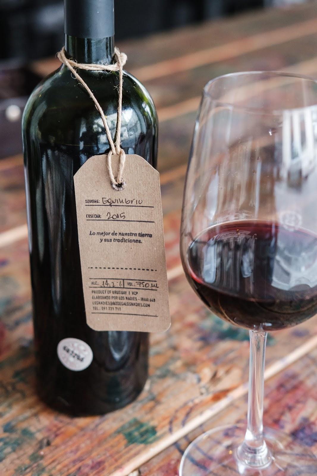 Degustacao vinho em Montevideu