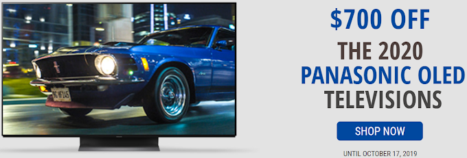 Get Up To 700 $ Off On Televisions 2020 with Panasonic Canada