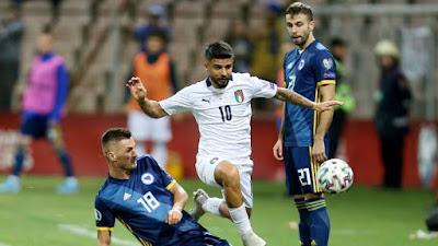 إيطاليا تستضيف البوسنة في دوري الأمم الأوروبية