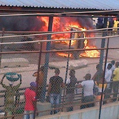 baby burnt to death candle fire iyana ipaja