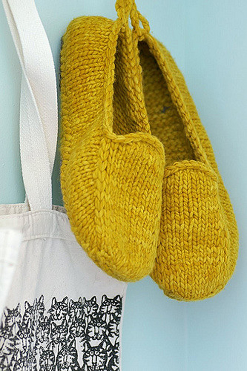 Malabrigo Loafers - Knitting Pattern