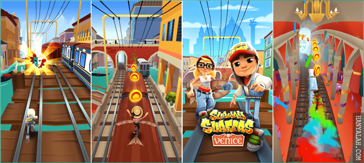 Download versi terbaru Subway Surfers PC dalam bahasa