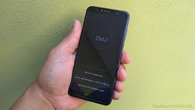 Cómo resetear un móvil Huawei