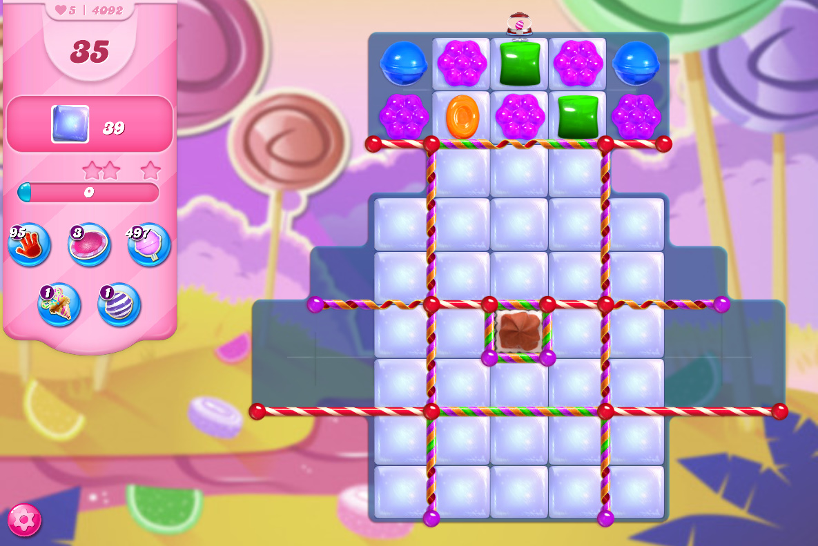 Candy Crush Saga level 4092