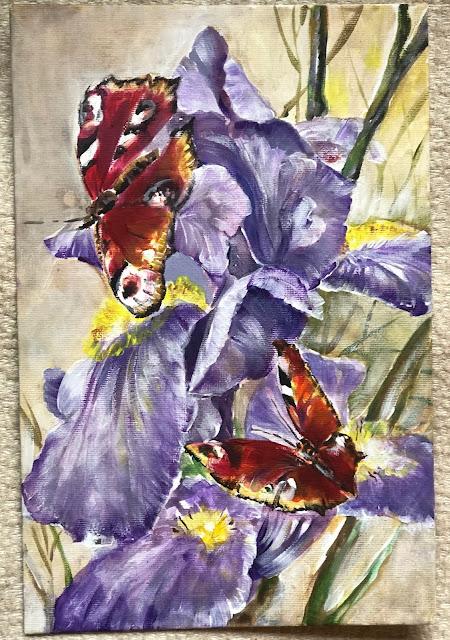Chez Maximka, flowers in art