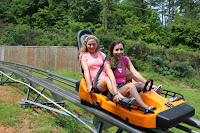 Ride single or double on the Alpine Coaster
