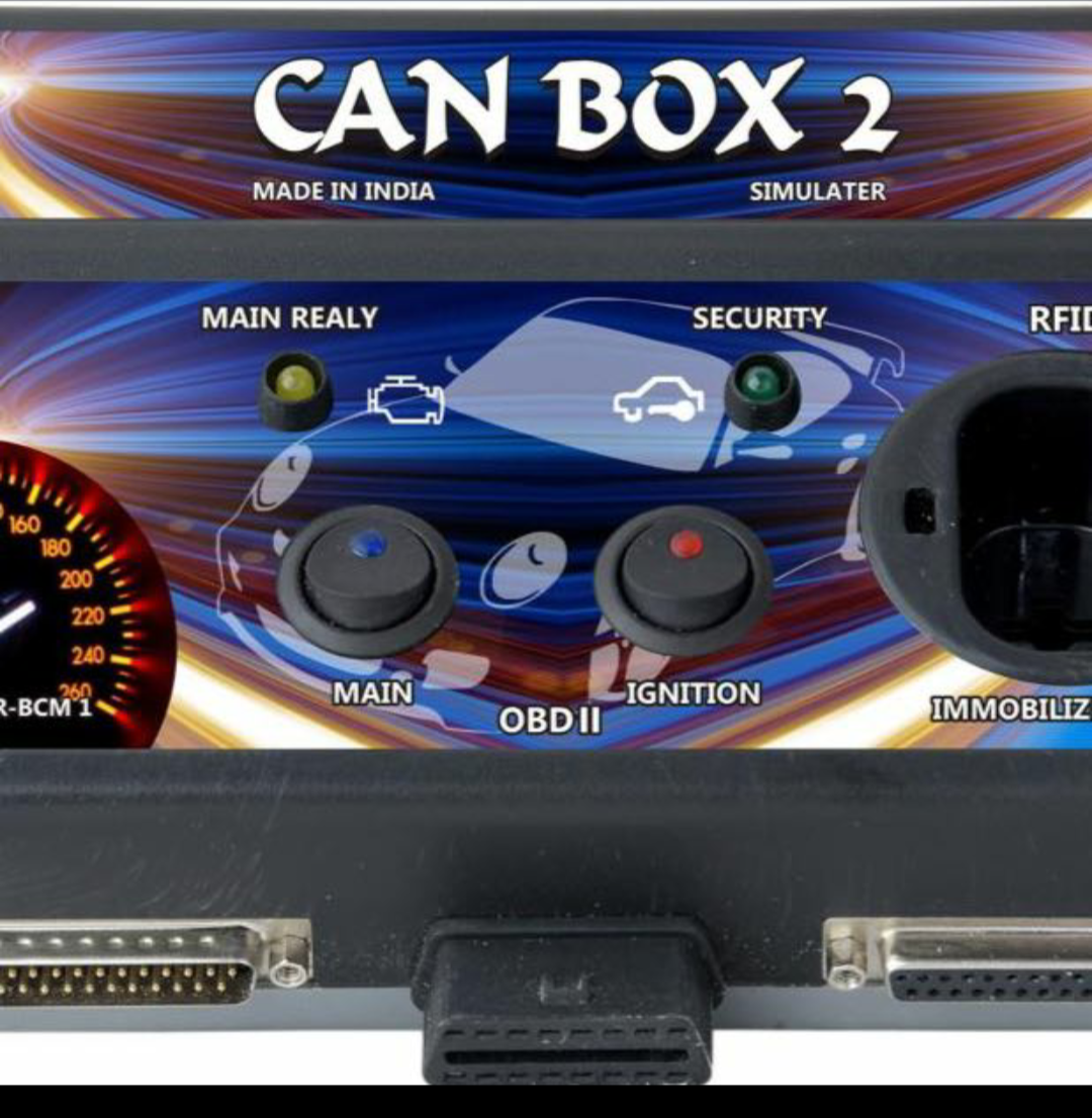 canbox 2 ecm tester with all sockets connectors price