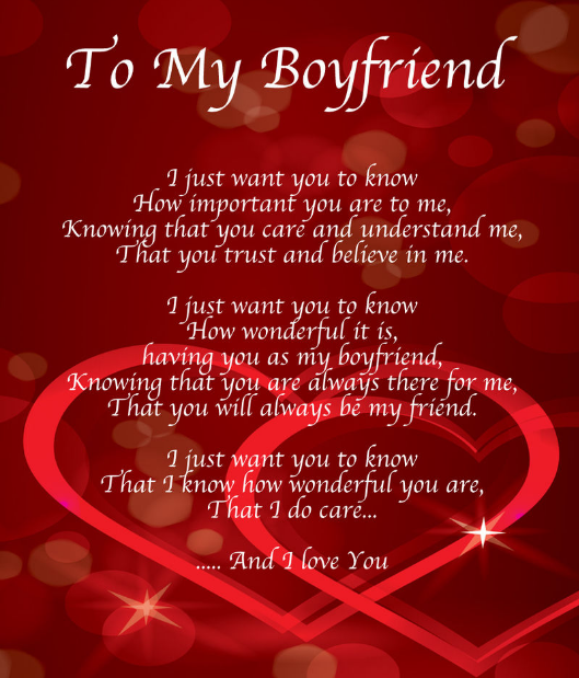 Romantic Happy Valentines Day 2017 Poems – Valentine Card Poems for Him