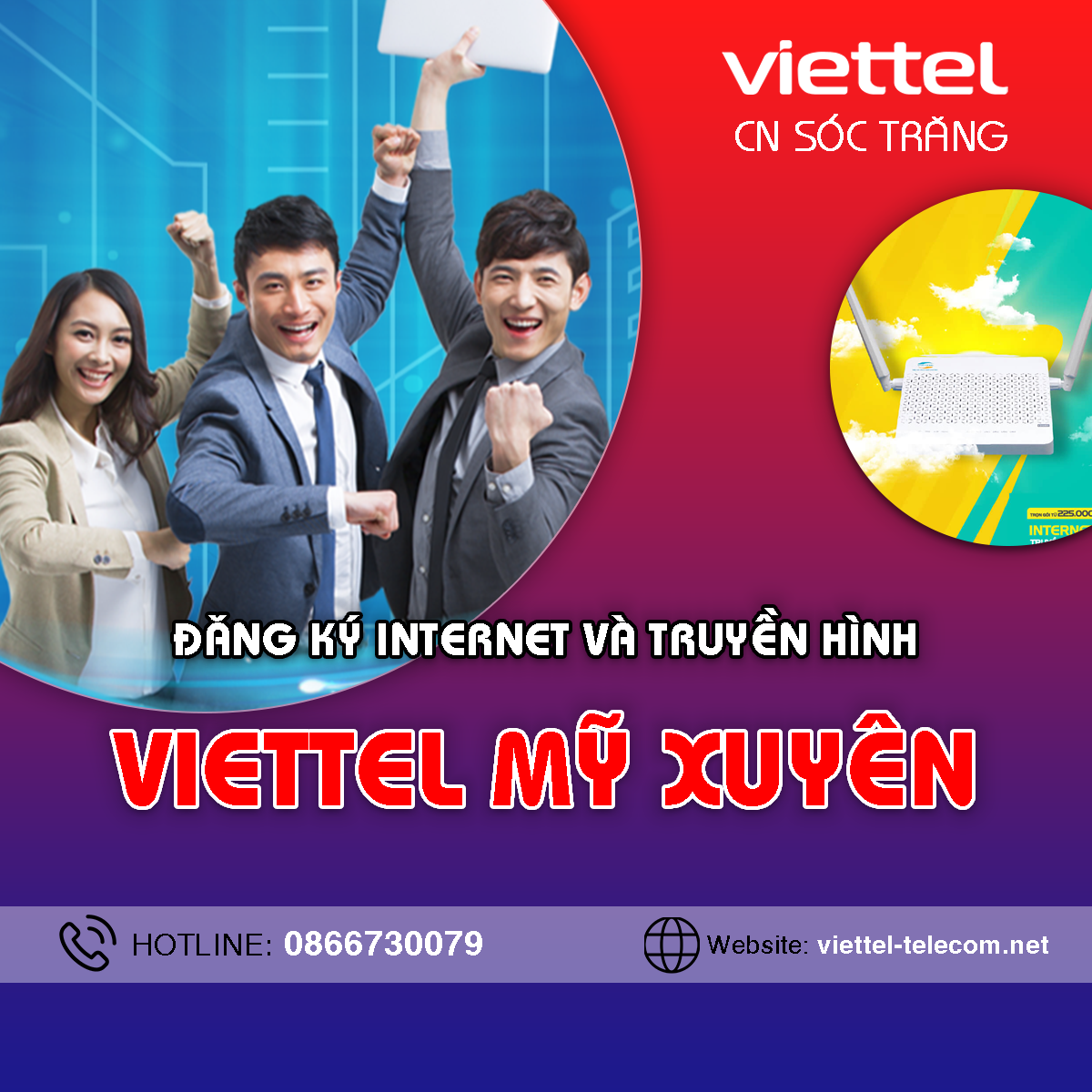 Cửa hàng Viettel huyện Mỹ Xuyên