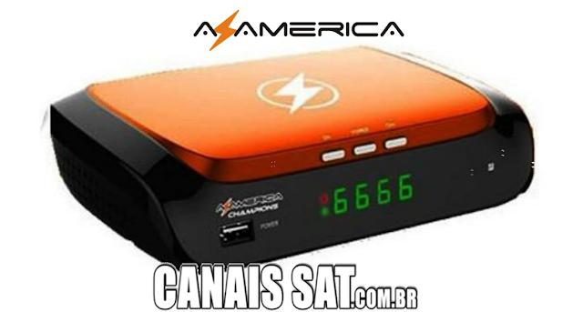 Azamerica Champions HD Nova Atualização V1.44 - 21/06/2020