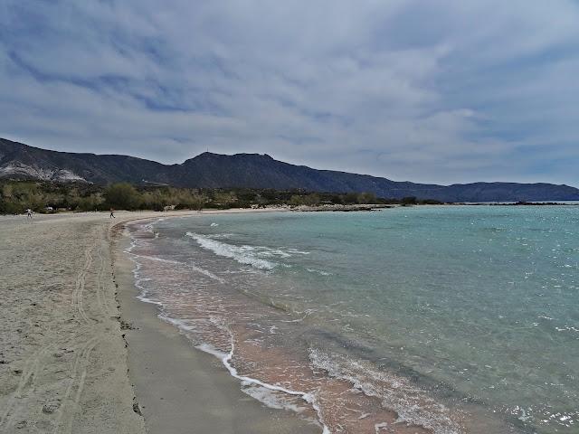 piaszczysta plaża na Krecie