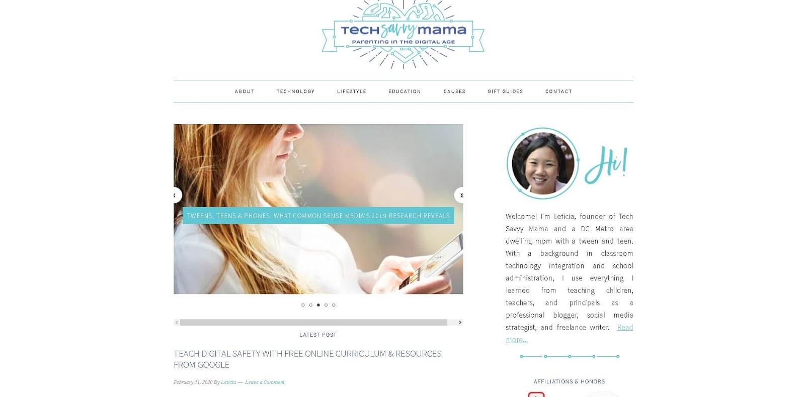 luchshie-blogi-mam-glavnaya-stranicza-tech-savvy-mama-skrinshot
