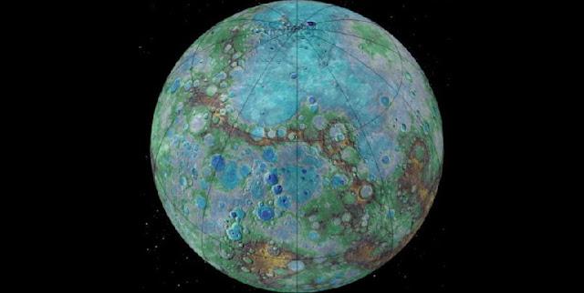 Surface of Mercury - credit: NASA/JHUAPL/Carnegie Institution of Washington/USGS/Arizona State University