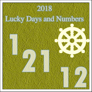 2018 Lucky Days and Numbers in Love and Money for each sign