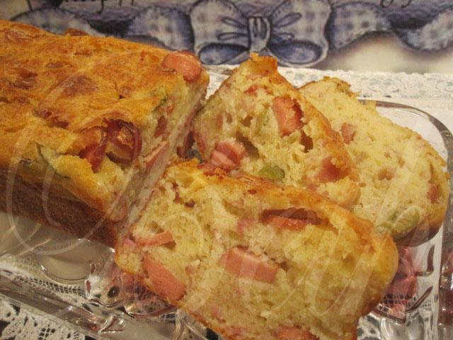 Cake Sal Ef Bf Bde Saucisses