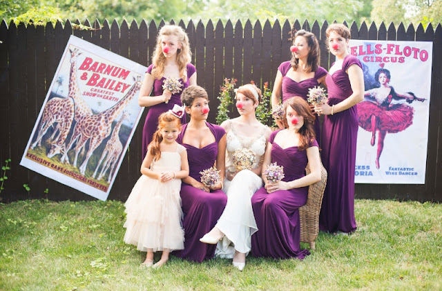 photobooth mariage cirque nez rouge