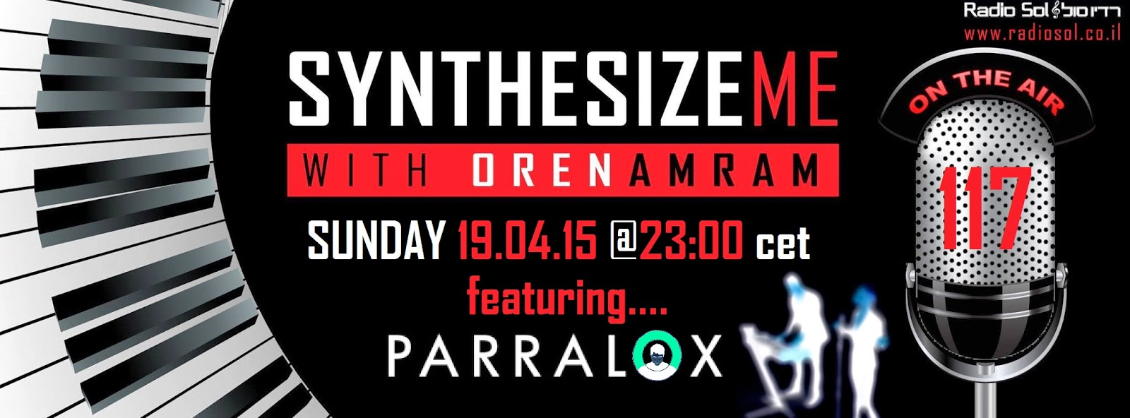 Synthesize Me (Isreal) 3 hour Radio show dedicated to Parralox