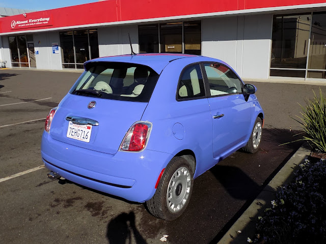 Fiat 500 after overall auto paint at Almost Everything Auto Body
