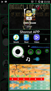 BBM Tranparan Green Line V2.10.0.31 APK