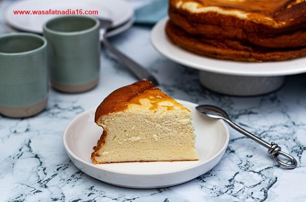 كعكة الجبن الخفيفة / وصفات طبخ جديدة